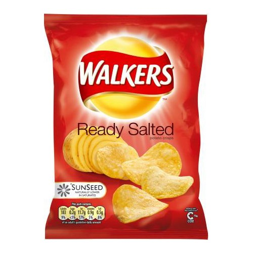 Image result for walkers ready salted crisps